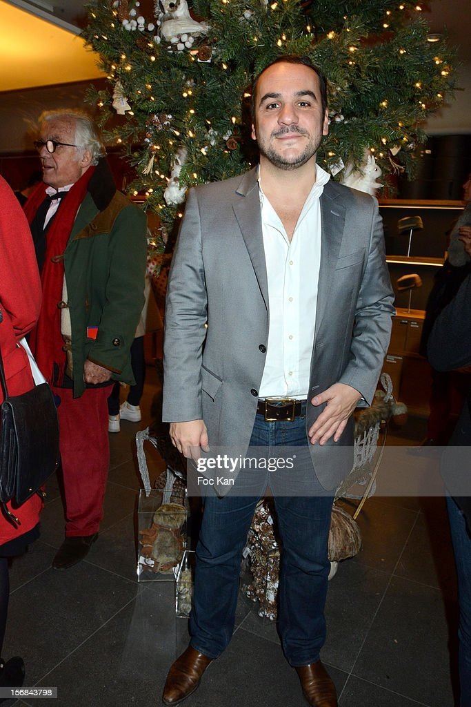 Actor Francois Xavier Demaison attends 'Home' India Madhavi and Soline Delos Book Launch at Musees Arts Decoratif Bookshop on November 22, 2012 in Paris, France.