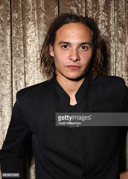 Actor Frank Dillane attends the AMC TCA panel at The Beverly Hilton Hotel on July 31 2015 in Beverly Hills California