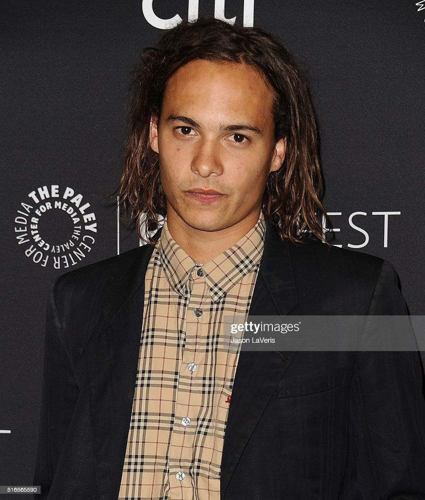 Actor Frank Dillane attends the 'Fear The Walking Dead' event at the 33rd annual PaleyFest at Dolby Theatre on March 19, 2016 in Hollywood, California.