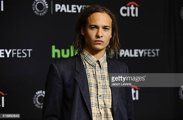 Actor Frank Dillane attends the 'Fear The Walking Dead' event at the 33rd annual PaleyFest at Dolby Theatre on March 19 2016 in Hollywood California