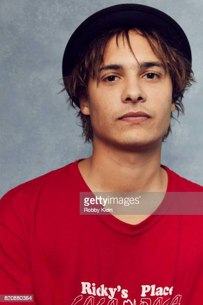 Actor Frank Dillane from AMC's 'Fear of the Walking Dead' poses for a portrait during ComicCon 2017 at Hard Rock Hotel San Diego on July 20 2017 in...