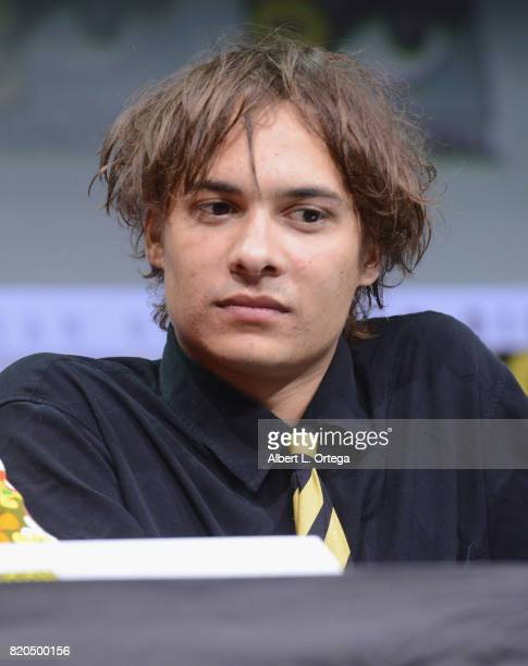 Actor Frank Dillane speaks onstage at ComicCon International 2017 AMC's 'Fear The Walking Dead' Panel at San Diego Convention Center on July 21 2017...