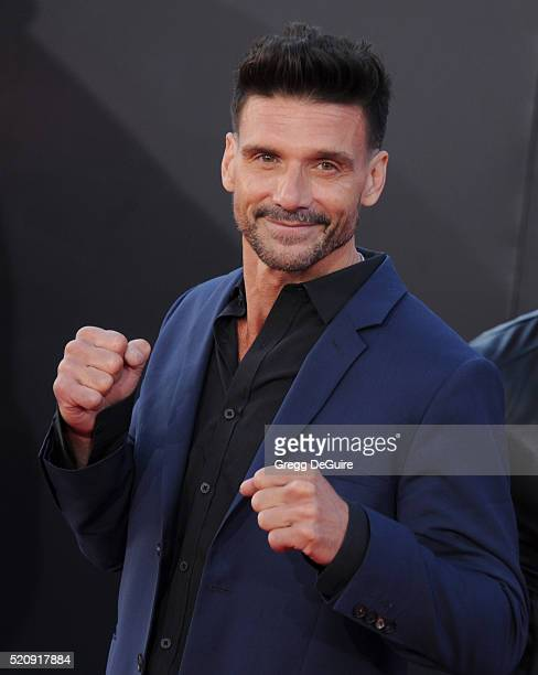 Actor Frank Grillo arrives at the premiere of Marvel's 'Captain America Civil War' on April 12 2016 in Hollywood California