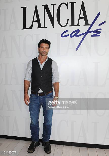 Actor Frank Grillo attends the 69th Venice Film Festival at Lancia Cafe on September 3 2012 in Venice Italy