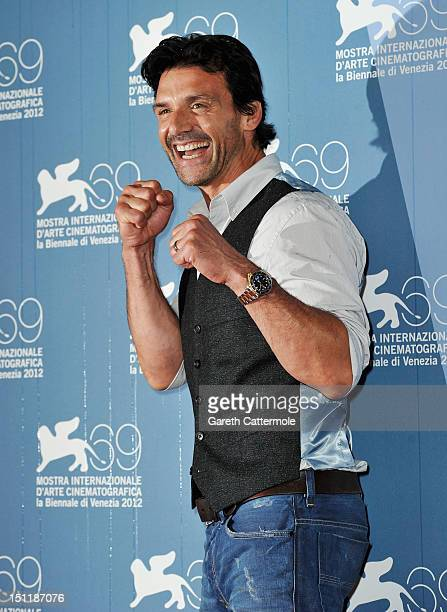 """Actor Frank Grillo attends the """"Disconnect"""" Photocall during the 69th Venice Film Festival at the Palazzo del Casino on September 3, 2012 in Venice,..."""