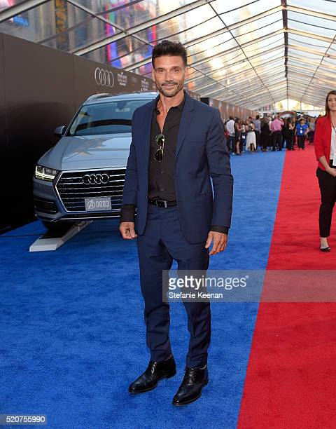 Actor Frank Grillo attends the World Premiere of 'Captain America Civil War' hosted by Audi at Dolby Theatre on April 12 2016 in Hollywood California