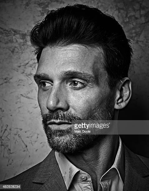 Actor Frank Grillo is photographed for Back Stage on April 11 in New York City. PUBLISHED IMAGE