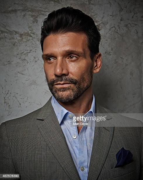 Actor Frank Grillo is photographed for Back Stage on April 11 in New York City.