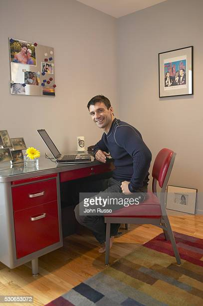 Actor Frank Grillo is photographed on January 8 2005 at home