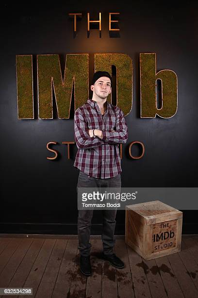 Actor Frank Hakaj of Beach Rats attends The IMDb Studio featuring the Filmmaker Discovery Lounge presented by Amazon Video Direct Day Four during The...