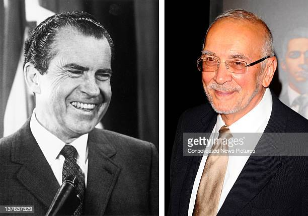 In this composite image a comparison has been made between Richard Nixon and actor Frank Langella Oscar hype continues this week with the...