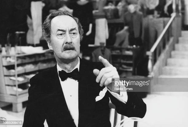 Actor Frank Thornton in a scene from the television sitcom 'Are You Being Served' March 3rd 1974