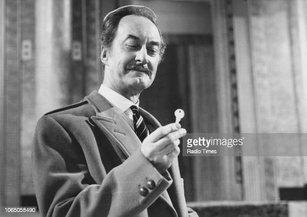 Actor Frank Thornton in a scene from the television sitcom 'Are You Being Served' January 12th 1975