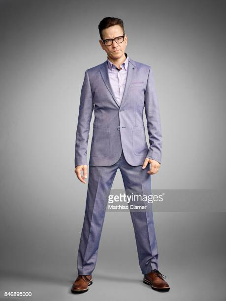 Actor Frank Whaley from 'Marvels Luke Cage' is photographed for Entertainment Weekly Magazine on July 21, 2016 at Comic Con in the Hard Rock Hotel in...