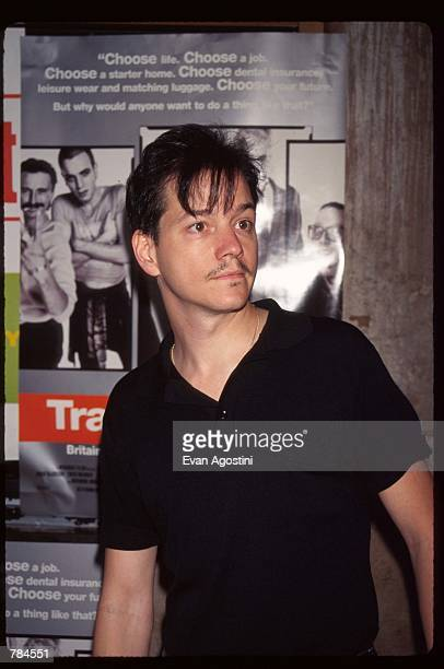"Actor Frank Whalley attends the premiere of ""Trainspotting"" July 15, 1996 in New York City. This British film received a 1997 Academy Award..."