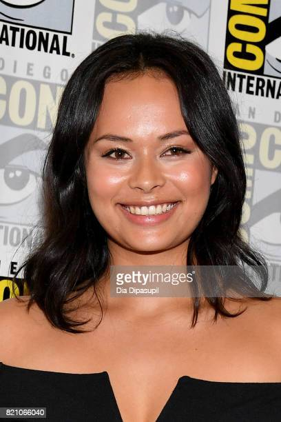 Actor Frankie Adams at The Expanse Press Line during ComicCon International 2017 at Hilton Bayfront on July 22 2017 in San Diego California