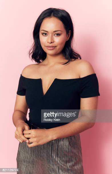 Actor Frankie Adams from Syfy's 'The Expanse' poses for a portrait during ComicCon 2017 at Hard Rock Hotel San Diego on July 22 2017 in San Diego...