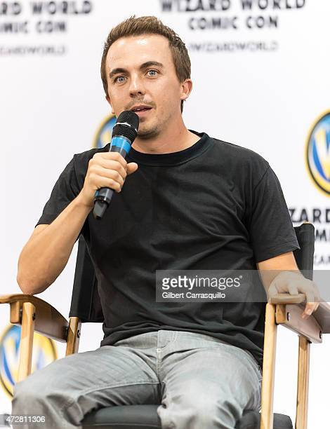 Actor Frankie Muniz attends day 3 of Wizard World Comic Con at Pennsylvania Convention Center on May 9 2015 in Philadelphia Pennsylvania