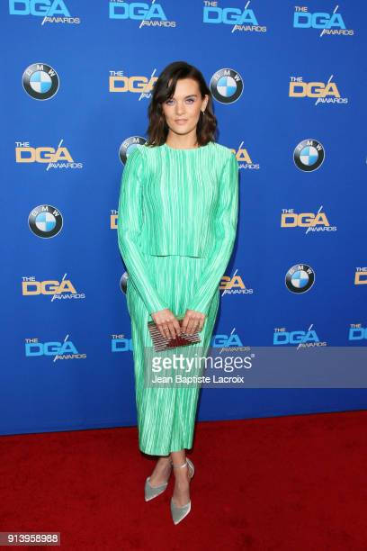 Actor Frankie Shaw attends the 70th Annual Directors Guild Of America Awards at The Beverly Hilton Hotel on February 3 2018 in Beverly Hills...