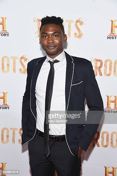 Actor Frankie Smith attends the Roots night one screening at Alice Tully Hall Lincoln Center on May 23 2016 in New York City