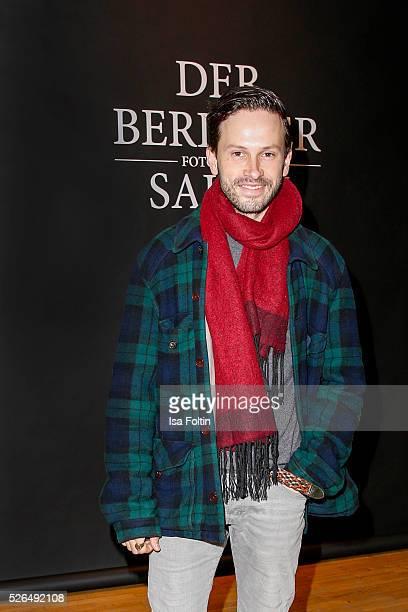 Actor Franz Dinda at 'Der Berliner Fotografie Salon Edition 1' on April 29 2016 in Berlin Germany
