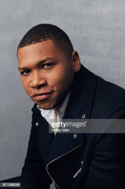Actor Franz Drameh from CW's 'Legends of Tomorrow' poses for a portrait during ComicCon 2017 at Hard Rock Hotel San Diego on July 22 2017 in San...