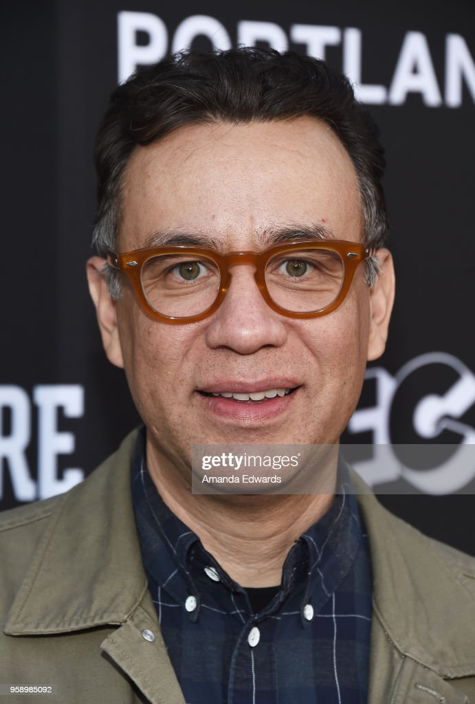 Actor Fred Armisen arrives at IFC 's 'Brockmire' and 'Portlandia' EMMY FYC red carpet event at the Saban Media Center on May 15, 2018 in North Hollywood, California.
