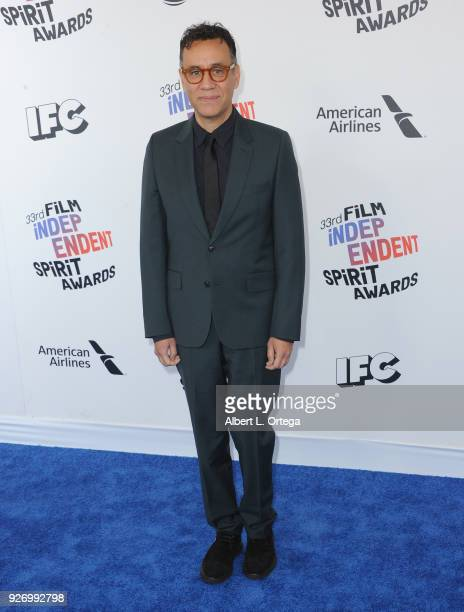Actor Fred Armisen arrives for the 2018 Film Independent Spirit Awards on March 3 2018 in Santa Monica California
