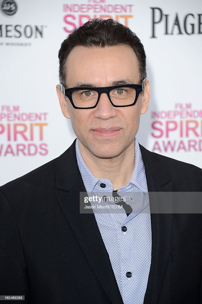 Actor Fred Armisen attends the 2013 Film Independent Spirit Awards at Santa Monica Beach on February 23, 2013 in Santa Monica, California.