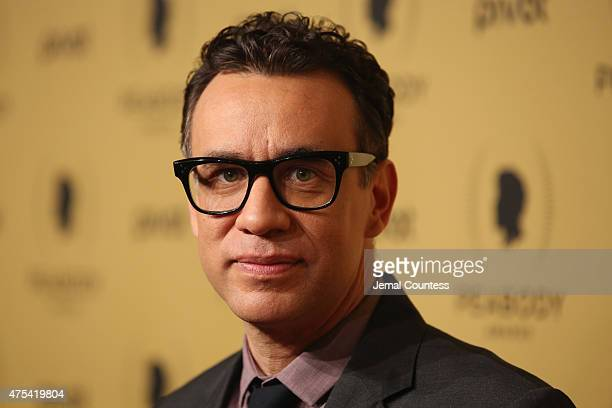 Actor Fred Armisen attends The 74th Annual Peabody Awards Ceremony at Cipriani Wall Street on May 31 2015 in New York City