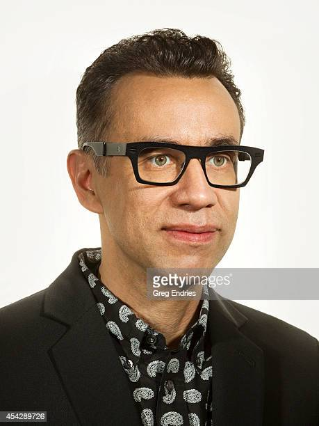 Actor Fred Armisen is photographed for Emmy Magazine on February 27 in New York City
