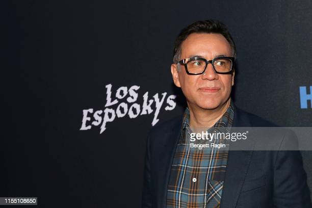 Actor Fred Armissen attends the Los Espookys New York Screening at Angel Orensanz Center on June 10 2019 in New York City