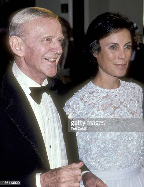 Actor Fred Astaire and wife Robyn Smith attend the Ninth Annual American Film Institute Lifetime Achievement Award Salute to Fred Astaire on April 10...