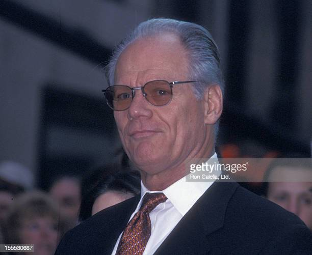 Actor Fred Dryer attends the taping of Phil Collins Concert on Today Show on November 15 2002 at Rockefeller Plaza in New York City
