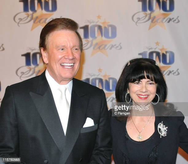 """Actor Fred Travalena and guest attend The 19th Annual """"Night of 100 Stars"""" Gala at The Beverly Hills Hotel on February 22, 2009 in Beverly Hills,..."""