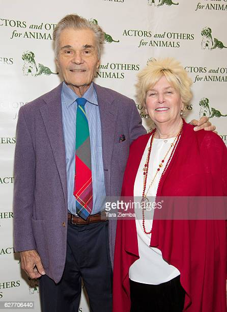 Actor Fred Willard and his wife Mary Willard attend the 'Joy to the Animals' luncheon and fundraiser at Universal City Hilton Towers on December 4...