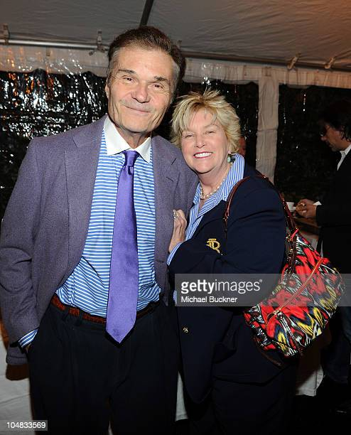 Actor Fred Willard and wife Mary attend the Alliance for Children's Right's 3rd Annual Dinner With Friends at the Abby WolfWeiss Home on October 5...