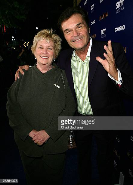 Actor Fred Willard and wife Mary attend The Maxim Style Awards at the Avalon on September 18 2007 in Los Angeles California
