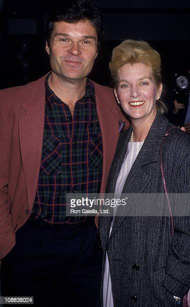 Actor Fred Willard and wife Mary Willard sighted on February 1 1987 at The Improv in West Hollywood California