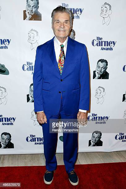 Actor Fred Willard arrives to the Carney Awards Honors Character Actors at The Paley Center for Media on November 1 2015 in Beverly Hills California