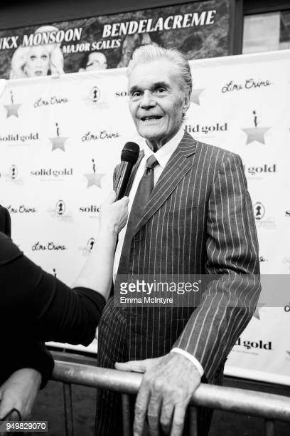 Actor Fred Willard attends 'CATstravaganza featuring Hamilton's Cats' on April 21, 2018 in Hollywood, California.