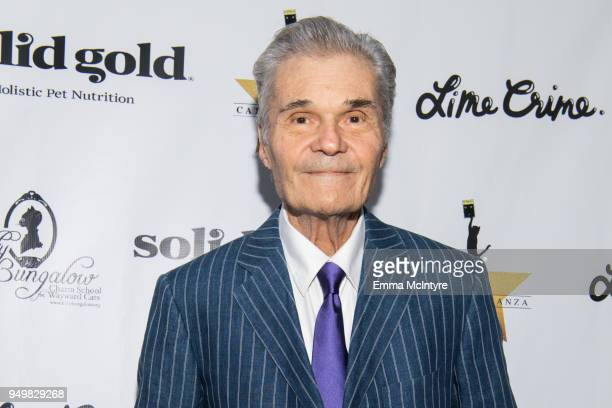 Actor Fred Willard attends 'CATstravaganza featuring Hamilton's Cats' on April 21 2018 in Hollywood California