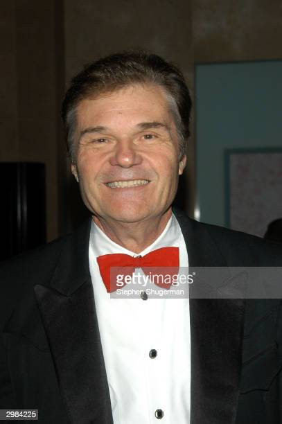 Actor Fred Willard attends the 8th Annual Art Directors Guild Awards Show on February 14 2004 at the Beverly Hills Hilton Hotel in Beverly Hills...