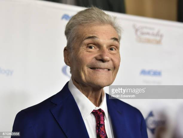 Actor Fred Willard attends the IMF 11th Annual Comedy Celebration at The Wilshire Ebell Theatre on November 4 2017 in Los Angeles California