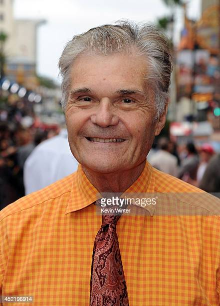 Actor Fred Willard attends the premiere of Disney's Planes Fire Rescue at the El Capitan Theatre on July 15 2014 in Hollywood California
