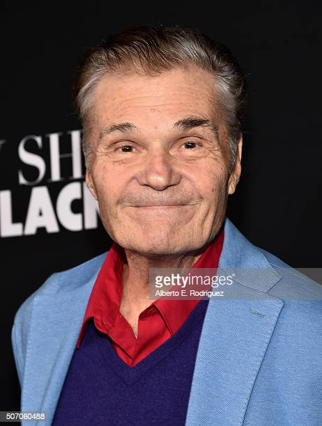 Actor Fred Willard attends the premiere of Open Road Films' Fifty Shades of Black at Regal Cinemas LA Live on January 26 2016 in Los Angeles...