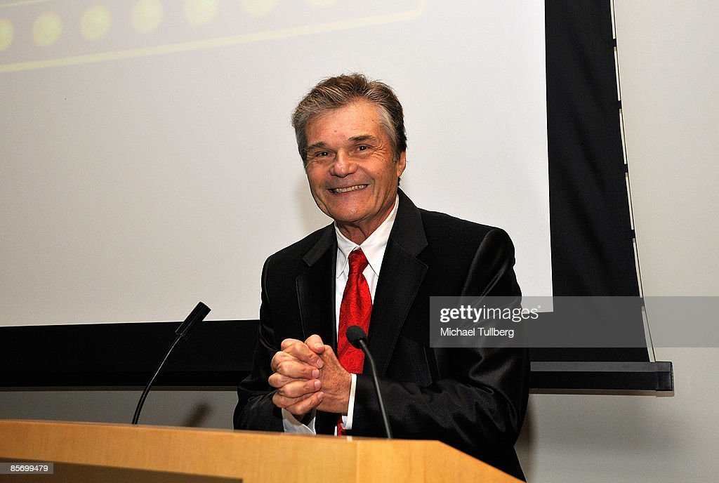 Actor Fred Willard hosts the awards ceremony at the Closing Night Gala for the 1st Annual Burbank International Film Festival, held at Woodbury University on March 29, 2009 in Burbank, California.