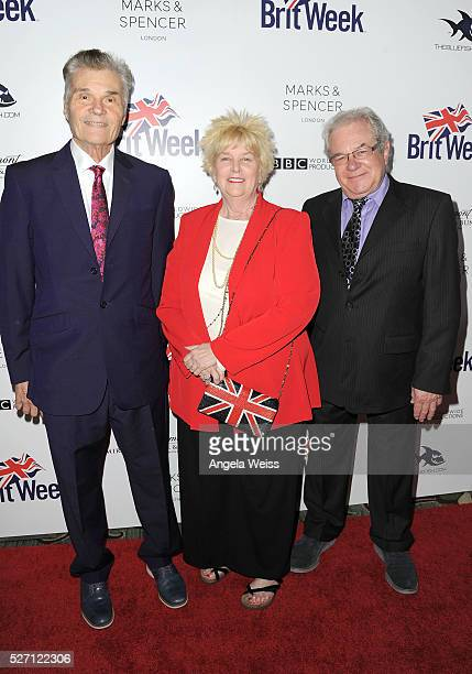 Actor Fred Willard Mary Willard and actor Alan Shearman attend BritWeek's 10th Anniversary VIP Reception Gala at Fairmont Hotel on May 1 2016 in Los...