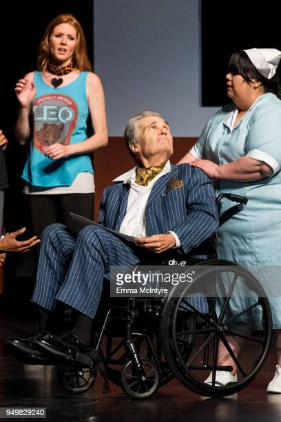 Actor Fred Willard performs onstage at 'CATstravaganza featuring Hamilton's Cats' on April 21, 2018 in Hollywood, California.