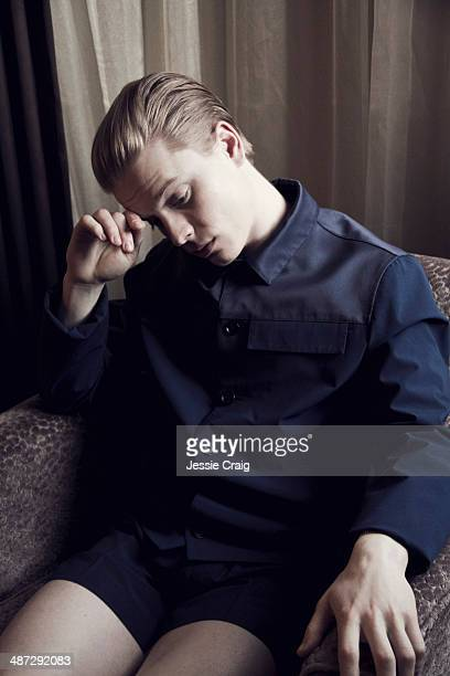 Actor Freddie Fox is photographed for Wonderland magazine in London England